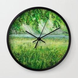sunshade of nature Wall Clock
