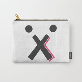 T-Shirt X with Two Ball - Limited Edition! Carry-All Pouch