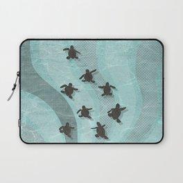 Loggerhead sea turtle hatchlings Laptop Sleeve