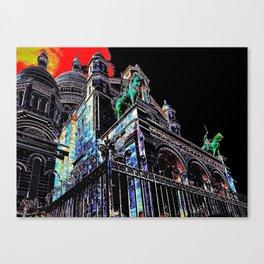 Paris Mood Canvas Print