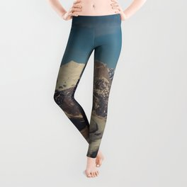 ALASKA I: Ruth Glacier beneath Denali ~ The Great One ~ Mt. McKinley Leggings