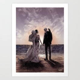 Til Death Do Us Part II Art Print