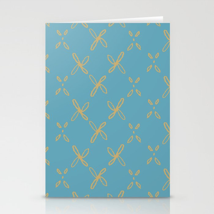 Abstract Astral Pattern Stationery Cards