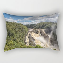 Magnificent Barron Falls in Queensland Rectangular Pillow