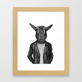 Don Pedro Old Goats Are Cool Framed Art Print
