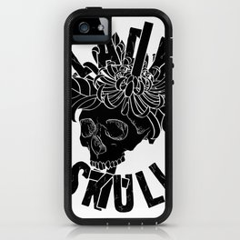 Lady Skull iPhone Case
