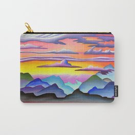 Colorful Coast Sunset Carry-All Pouch