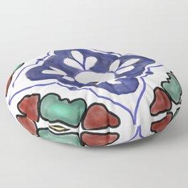 talavera tile Floor Pillow