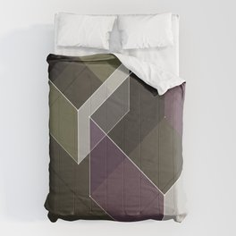 Muted RGB by Friztin Comforters