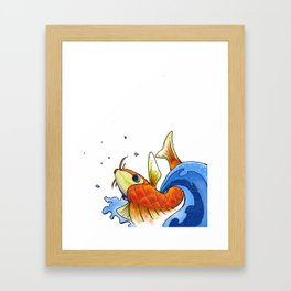 coy Framed Art Print