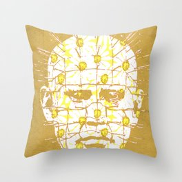 hell can wait as well  Throw Pillow
