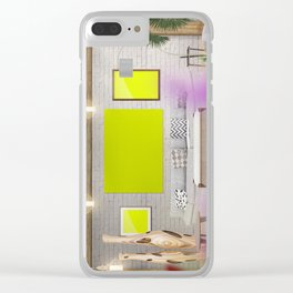 6 Scene Clear iPhone Case