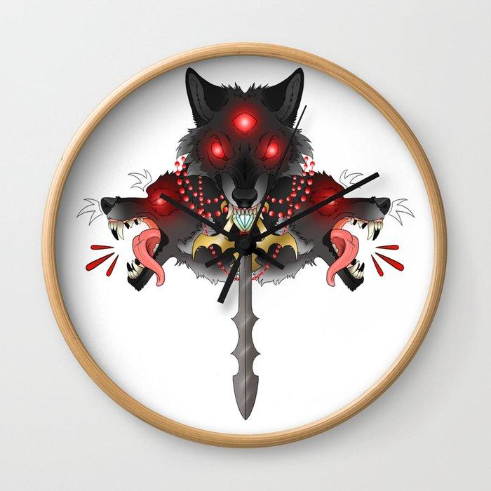 The Three Swordsman Wall Clock