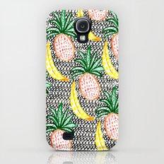 Pineapple and Banana Slim Case Galaxy S4