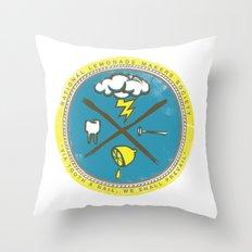 National Lemonade Makers Society Crest Throw Pillow