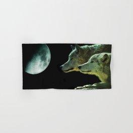 Moonlight Wolves Hand & Bath Towel