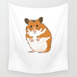 Hamster Wall Tapestry