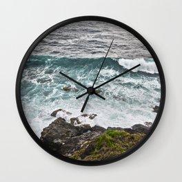 Rocky Cliffs II Wall Clock