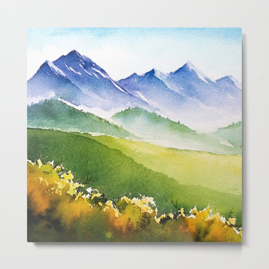 Autumn landscape #1 Metal Print