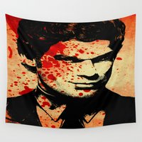 dexter Wall Tapestries featuring Dexter by 2b2dornot2b