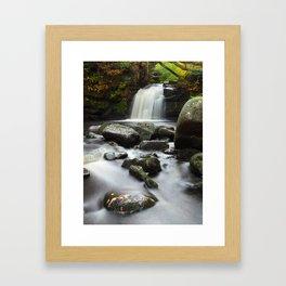 Thomasson Foss Waterfall Goathland Framed Art Print