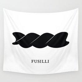 Pasta Series: Fusilli Wall Tapestry