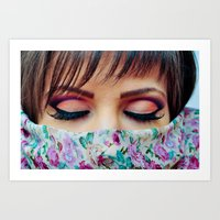 make up Art Prints featuring Make Up by Eduard Leasa Photography