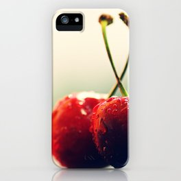 #Two #Gourmet #cherry iPhone Case