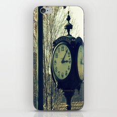 Clock iPhone & iPod Skin