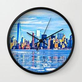World-knowed Urban Art Design Wall Clock