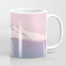 Pastel Mountain Adventure - Nature Photography Coffee Mug