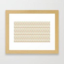 Greenwood leaf Framed Art Print