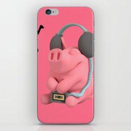 Rosa the Pig Walkman iPhone Skin