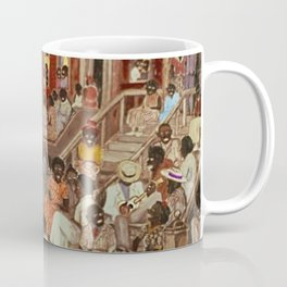 African American Masterpiece 'Midsummer Night in Harlem 1936' by P. Hayden Coffee Mug