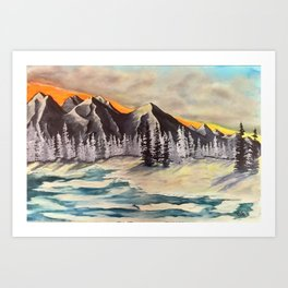 Chinook arch Art Print