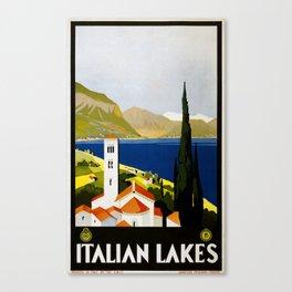 Italian Lakes Canvas Print