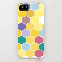 Honey Comb turns Zesty iPhone Case