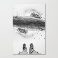 Solid ground Canvas Print