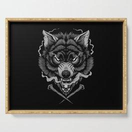 Dark Wolf Serving Tray