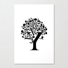 g tree Canvas Print