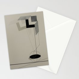El Lissitzky - Kestnermappe Proun, Rob. Levnis and Chapman GmbH Hannover #2 (1923) Stationery Cards