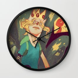 Finn the Human Wall Clock