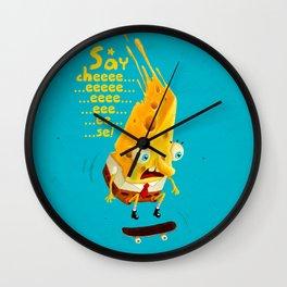 Say cheese Wall Clock