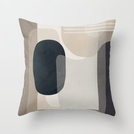 Abstract Geometric Art 52 Throw Pillow
