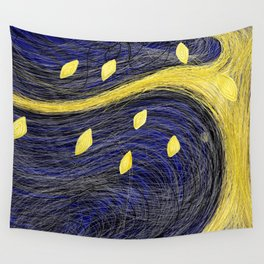 Golden Light Tree - Golden Light 3 Wall Tapestry