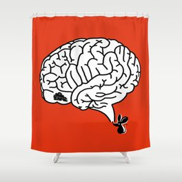 Brain Labyrinth Shower Curtain