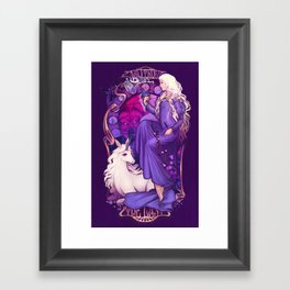 Am I Truly the Last? Framed Art Print