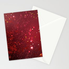 Background Color Marsala Stationery Cards