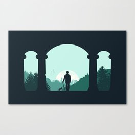 Time Traveler Canvas Print