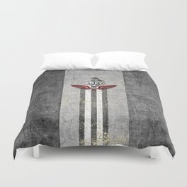 poloplayer grey Duvet Cover